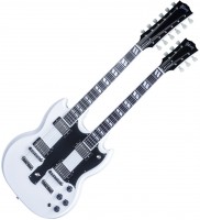 Custom Shop EDS-1275 Doubleneck - Alpine white