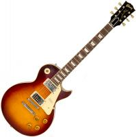 Guitare électrique solid body Gibson Custom Shop 1959 Les Paul Standard 2019 #983045 - Vos bourbon burst