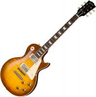 Guitare électrique solid body Gibson Custom Shop 60th Anniversary 1959 Les Paul Standard (Bolivian RW) - Vos royal teaburst