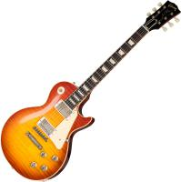 Guitare électrique solid body Gibson Custom Shop 1960 Les Paul Standard Reissue 2019 - Vos washed cherry sunburst