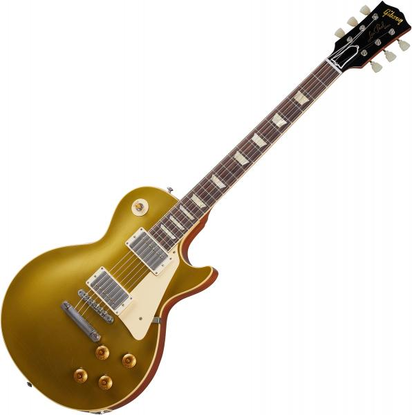 Guitare électrique solid body Gibson Custom Shop Murphy Lab 1957 Les Paul Goldtop Reissue - Ultra light aged double gold