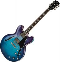 Guitare électrique hollow body Gibson ES-335 Figured 2019 - Blueberry burst