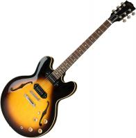 Guitare électrique hollow body Gibson ES-335 P-90 2019 - Vintage burst