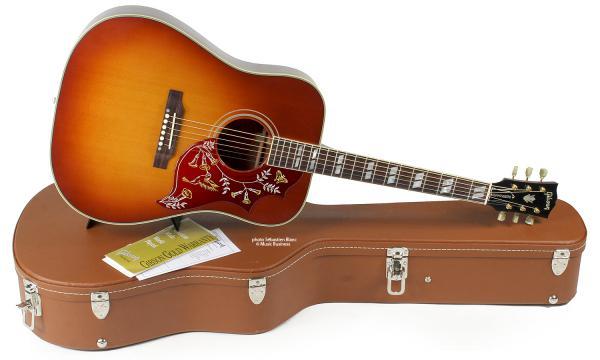 Gibson Hummingbird True Vintage - heritage cherry Acoustic