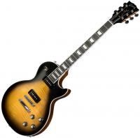 Guitare électrique solid body Gibson Les Paul Classic Player Plus 2018 - Satin vintage sunburst