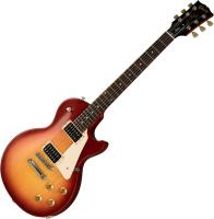 Guitare électrique solid body Gibson Les Paul Studio Tribute 2019 - Satin cherry sunburst
