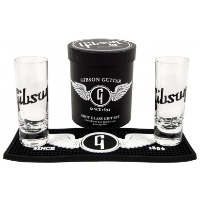 Verre Gibson Logo Shot Glass Set Liqueur