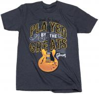 Played By The Greats T Charcoal - S