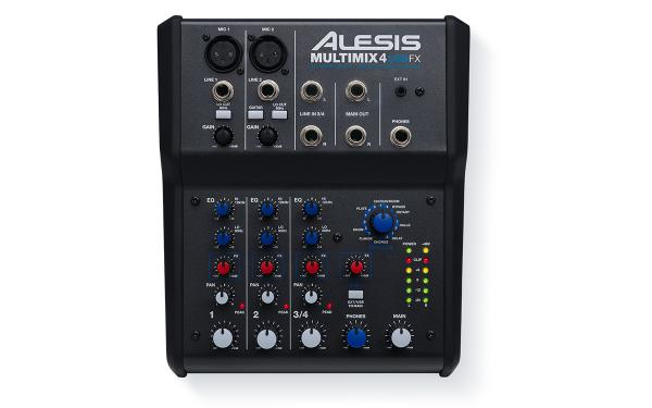 Table de mixage analogique Alesis MultiMix 4 USB FX