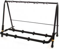 Stand & support guitare & basse Hercules stand GS525B Rack 5-Guitars Stand