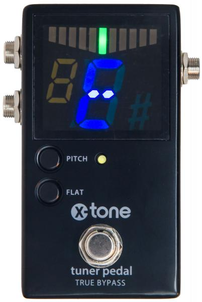 Accordeur en pedale X-tone Chromatic Pedal Tuner