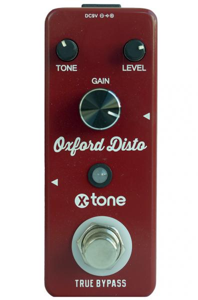 Pédale overdrive / distortion / fuzz X-tone Oxford Disto