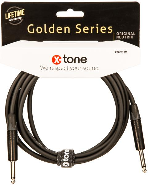 Câble X-tone X3002-3M Instrument Cable Right/Right 3m