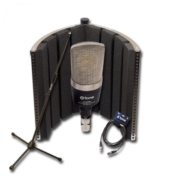 Pack micro avec pied X-tone Pack Micro XS Studio