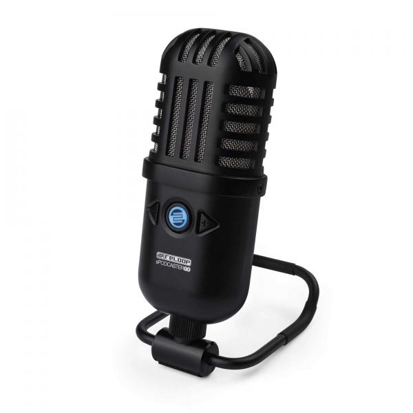 Microphone usb podcast radio Reloop Spodcaster Go