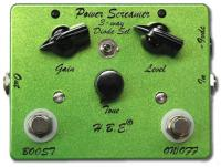 Pédale overdrive / distortion / fuzz Hbe Power Screamer with fast boost