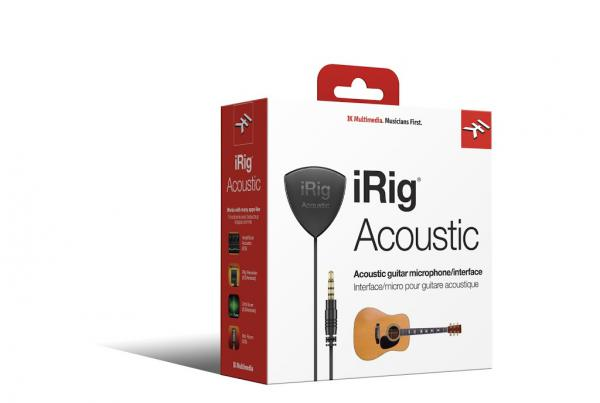 Interface audio tablette / iphone / ipad Ik multimedia iRig Acoustic