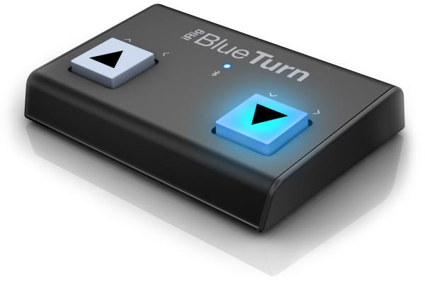 Footswitch & commande divers Ik multimedia iRig BlueTurn
