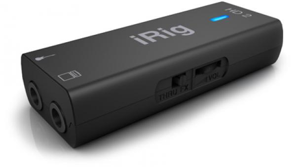 Interface audio tablette / iphone / ipad Ik multimedia iRig HD 2