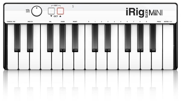 Clavier maître Ik multimedia iRig Keys Mini