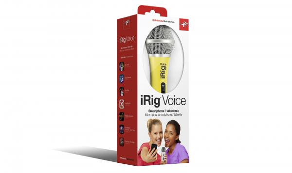 Micro smartphone Ik multimedia iRig Voice Yellow