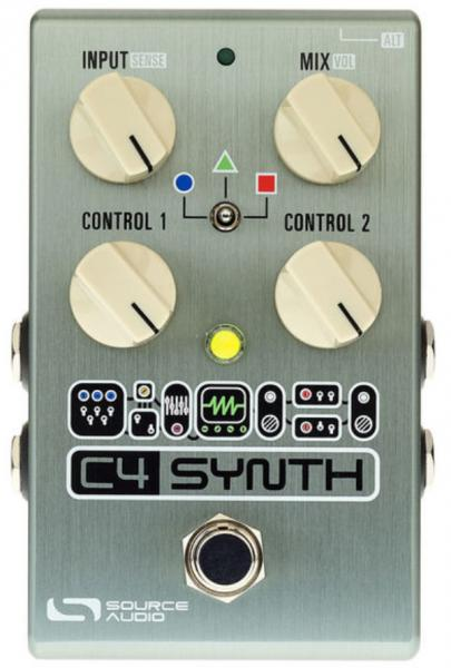 Pédale harmoniseur Source audio C4 Synth For Guitar & Bass