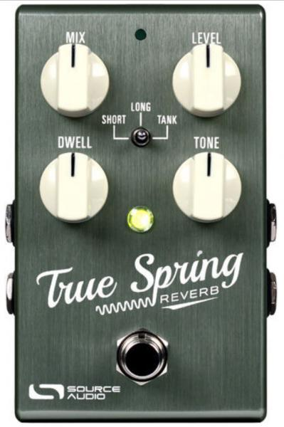 Pédale reverb / delay / echo Source audio True Spring One Series