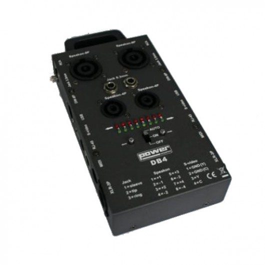 Testeur de câble Alctron DB4 Audio Cable Tester