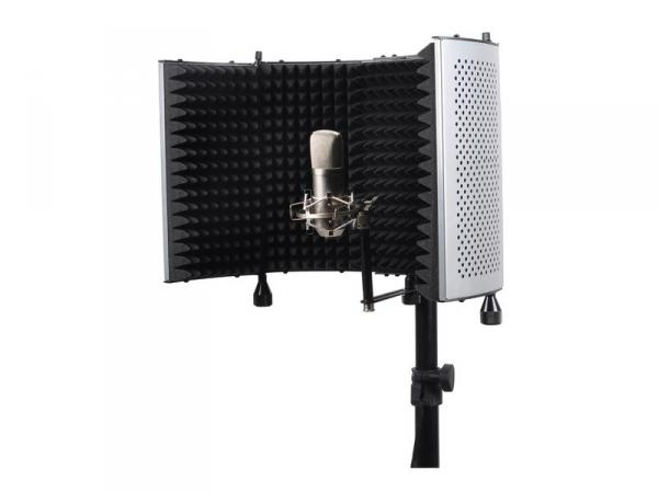 Filtre antipop et antibruit micro Power studio PF70 Silver