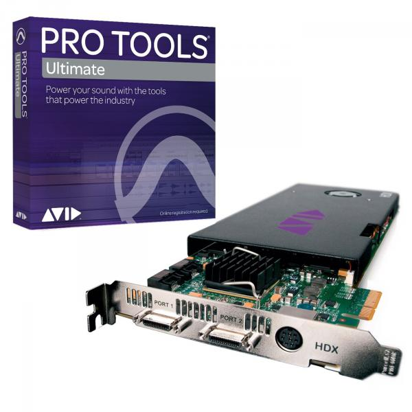 Système hd protools Avid PRO TOOLS HDX CORE WITH PRO TOOLS ULTIMATE