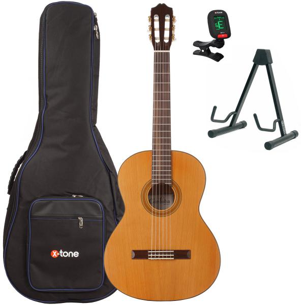Pack guitare classique Cordoba Iberia C3M + housse + stand + accordeur - Natural satin