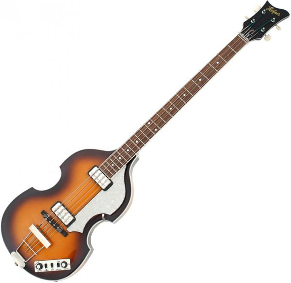 Basse électrique solid body Hofner Violin Bass CT - Sunburst