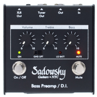Outboard Bass Preamp/DI Pedal