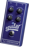 Pédale compression / sustain / noise gate Aguilar TLC Compressor