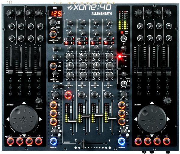 Table de mixage dj Allen & heath Xone 4D