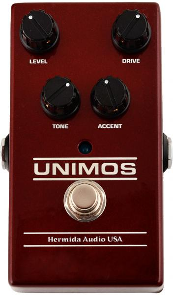 Pédale overdrive / distortion / fuzz Lovepedal Hermida Unimos