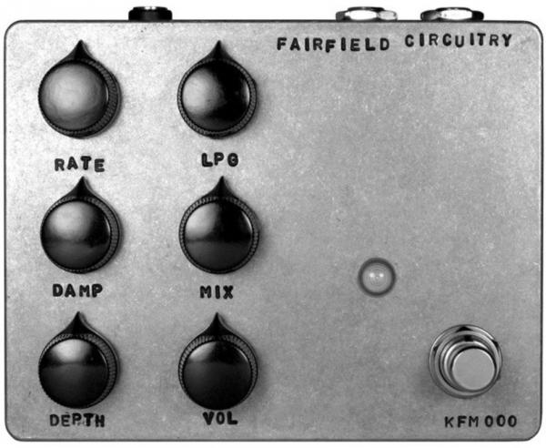 Pédale chorus / flanger / phaser / modul. / trem. Fairfield circuitry Shallow Water
