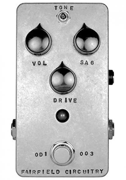 Pédale overdrive / distortion / fuzz Fairfield circuitry The Barbershop Overdrive V2