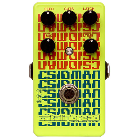 Pédale reverb / delay / echo Catalinbread Csidman