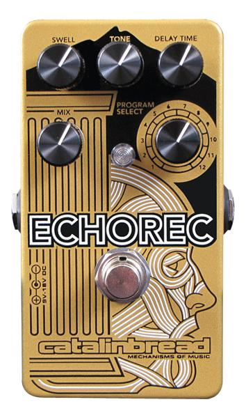 Pédale reverb / delay / echo Catalinbread ECHOREC