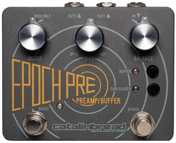 Pédale reverb / delay / echo Catalinbread Epoch Pre
