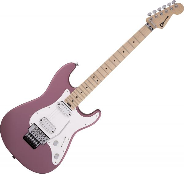 Guitare électrique solid body Charvel Pro-Mod So-Cal Style 1 HH FR M - Burgundy mist