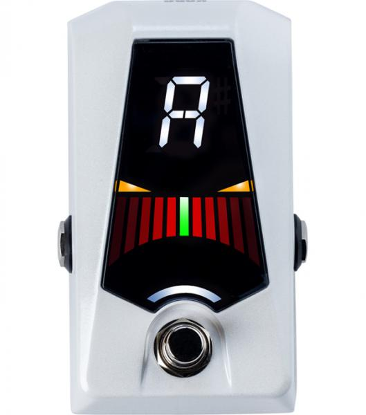Accordeur en pedale Korg Pitchblack Advance Pedal Tuner - White