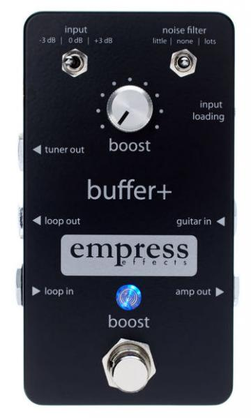 Pédale eq. / enhancer / buffer Empress Buffer +