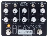 Pédale overdrive / distortion / fuzz Empress Heavy