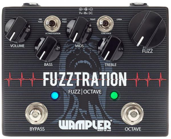 Pédale overdrive / distortion / fuzz Wampler Fuzztration Fuzz With Octave
