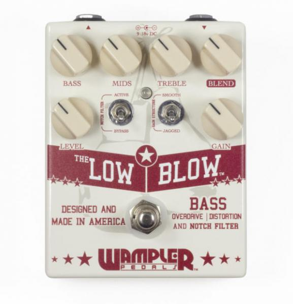 Pédale overdrive / distortion / fuzz Wampler Low Blow