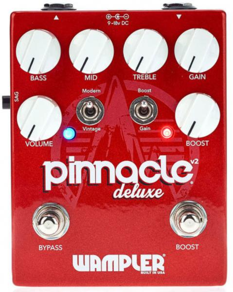 Pédale overdrive / distortion / fuzz Wampler Pinnacle Deluxe v2