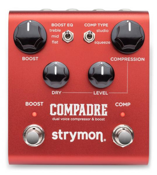 Pédale compression / sustain / noise gate  Strymon COMPADRE COMPRESSEUR