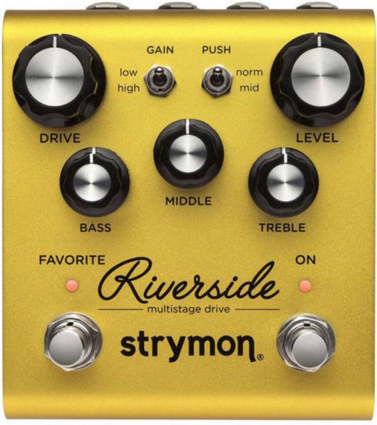 Pédale overdrive / distortion / fuzz Strymon Riverside Multistage Drive